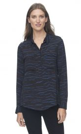 Double Pocket Tiger Top at Rebecca Taylor