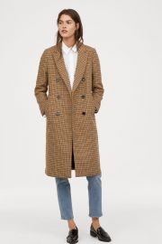 Double breasted coat at H&M