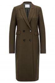 Doublebreasted coat at Hugo Boss