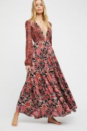 Dove Long Sleeve Maxi Dress at Free People