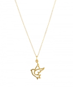 Dove charm necklace at Peggy Li