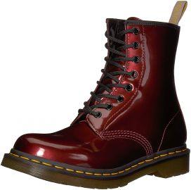 Dr  Martens Women s 1460 W Vegan Chrome Chukka Boot at Amazon