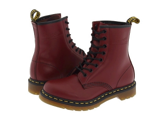 Dr Martens 1460 W Cherry Red at Zappos