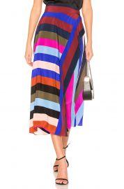 Draped Wrap Maxi Skirt by Diane von Furstenberg at Revolve