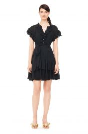 Dree Embroidered Dress   Rebecca Taylor at Rebecca Taylor