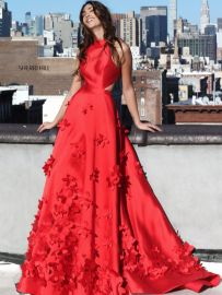 Dress 51116 in Red at Sherri Hill