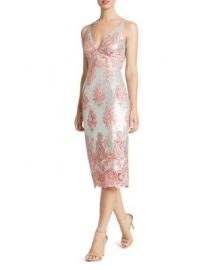 Dress the Population Angela Sequin  amp  Lace Dress at Bloomingdales