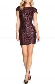 Dress the Population Tabitha Sequin Minidress at Nordstrom