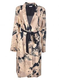 Dries van Noten Floral Print Coat at Italist