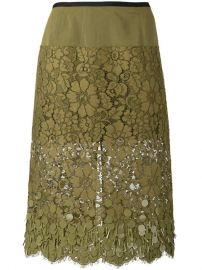 Dries Van Noten Embroidered Skirt at Farfetch