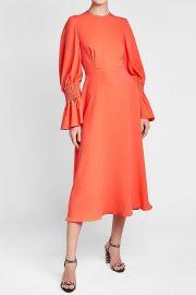Duana Silk Dress at Stylebop