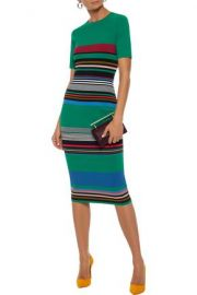 DvF Striped Dress at The Outnet