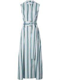 Dvf Diane Von Furstenberg Belted Stripe Dress - Farfetch at Farfetch