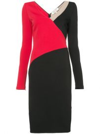 Dvf Diane Von Furstenberg Colourblocked Dress at Farfetch