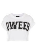 Dweeb crop top at topshop at Topshop