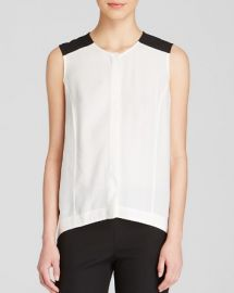 Dylan Gray Color Block Sleeveless Top at Bloomingdales