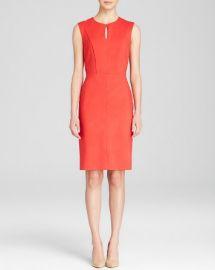 Dylan Gray Keyhole Front Ponte Sheath at Bloomingdales