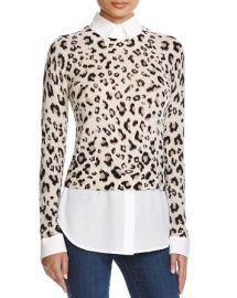Dylan Gray Leopard Layered Shirt at Bloomingdales