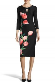 ECI Print Sheath Dress at Nordstrom