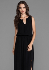 ELLA MOSS Stella Maxi Dress in Black at Revolve