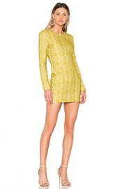 ELLIATT Delirium Mini Dress in Citron from Revolve com at Revolve