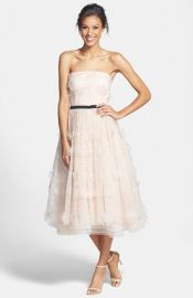 ERIN erin fetherston and39Lucielleand39 3D Floral Organza Dress at Nordstrom