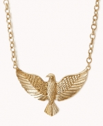Eagle necklace at Forever 21