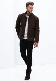 Earl Nubuck Jacket at Danier
