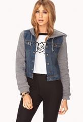 Easy Denim Jacket at Forever 21