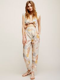 Easy on the Eyes Jumpsuit at Free People
