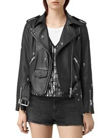 Eaves Leather Jacket at All Saints
