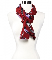 Echo Design Beacons Birds Scarf Rust at Zappos