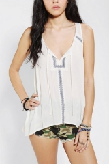 Ecote Cirrus Stitch Tank Top at Urban Outfitters