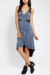 Ecote HighLow Lace Dress at Urban Outfitters