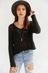 Ecote Virtual Insanity Cropped Sweater at Urban Outfitters