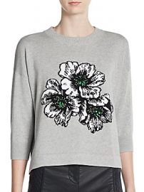 Eddie Pop Floral Sweater by French Connection at Saks Off 5th