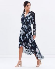 Eden Wrap Dress by Ginger & Smart at The Iconic
