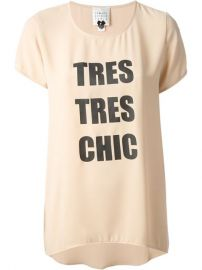 Edward Achour Paris and39tres Tres Chicand39 T-shirt - at Farfetch