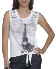 Eiffel Tower Tee at Wet Seal