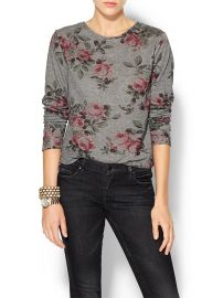 Eight Sixty floral sweater at Piperlime