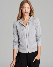 Eileen Fisher Petites Perforated Hoodie at Bloomingdales