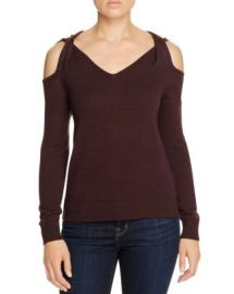 Elan Twist Cold Shoulder Sweater at Bloomingdales