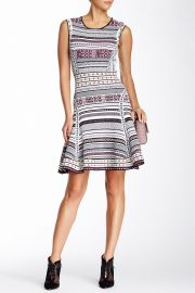Eleanor Jacquard A-Line Dress at Nordstrom Rack