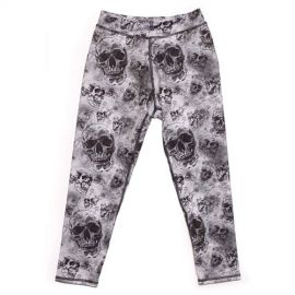 Electric and Rose Skull Leggings at Ron Robinson