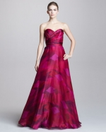 Elena's pink prom dress at Neiman Marcus at Neiman Marcus