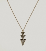 Elena's triangle necklace at American Eagle