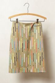Elevenses No 2 Pencil Skirt in Tan at Anthropologie