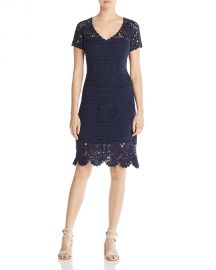 Elie Tahari Esme Crochet Dress at Bloomingdale