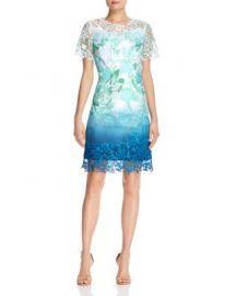 Elie Tahari Organdy Ombr  Dress at Bloomingdales