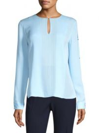 Elie Tahari - Jolene Silk Blouse at Saks Fifth Avenue
